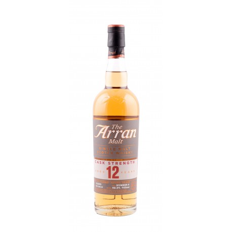 Arran 12 Years - Single Malt, Cask Strenght - 52.9% - 70cl