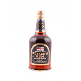 "Pusser's Navy Rum ""Gunpowder Proof"" - 54.5% - 70cl"