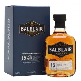 Balblair 15 ans - Single Malt - 46% - 70 cl