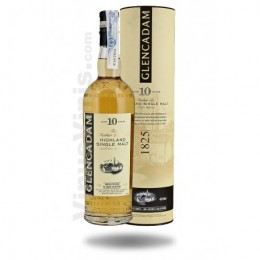 GLENCADAM 10 ans - Single Malt - 46% - 70 cl