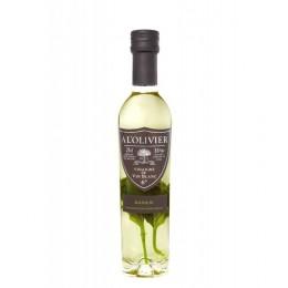 Vinaigre de Vin Blanc au Basilic
