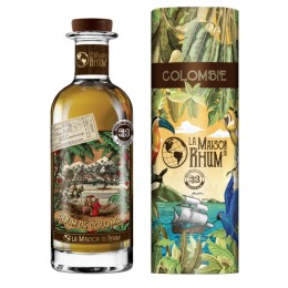 LA MAISON DU RHUM Colombie Coloma batch 3 - 46% - 70cl