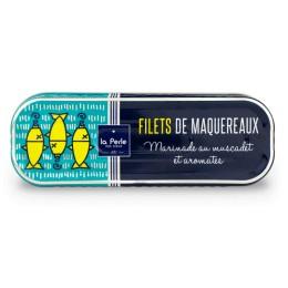 Filets de maquereaux - Marinade au muscadet et aromates