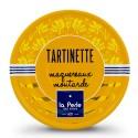 Tartinette de maquereaux à la moutarde