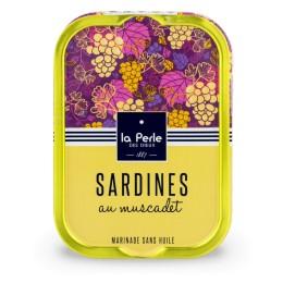 Sardines sans huile au muscadet
