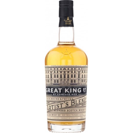 COMPASS BOX Great King - Blended Whisky - 43 % - 70 cl
