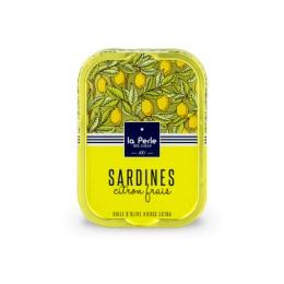 Sardines à l'huile d'olive et au citron frais
