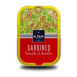 Sardines à tomate et au basilic