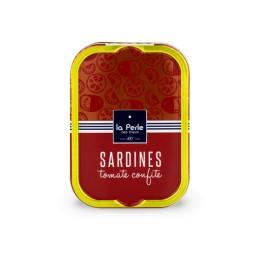 Sardines à la tomate confite