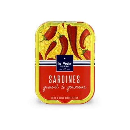 Sardines au piment et aux poivrons