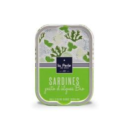 Sardines au pesto d'algues BIO