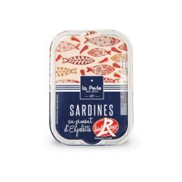 Sardines Label Rouge au piment d'Espelette