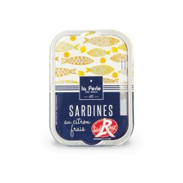Sardines Label Rouge au citron frais