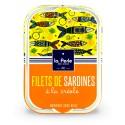Filets de sardines sans huile à la créole