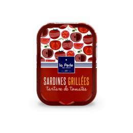 Sardines grillées au tartare de tomates