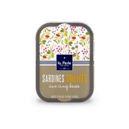 Sardines grillées aux cinq baies
