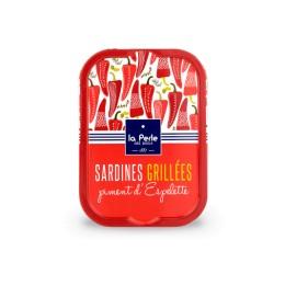 Sardines grillées au piment d'Espelette