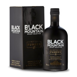 BLACK MOUNTAIN Notes Fumées - Blended Whisky - 45% - 70 cl