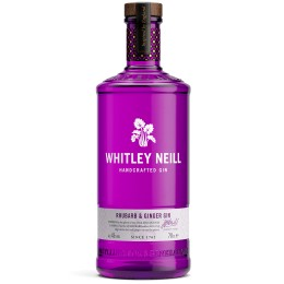 WHITLEY NEILL Rhubarb & Ginger - 43% - 70cl
